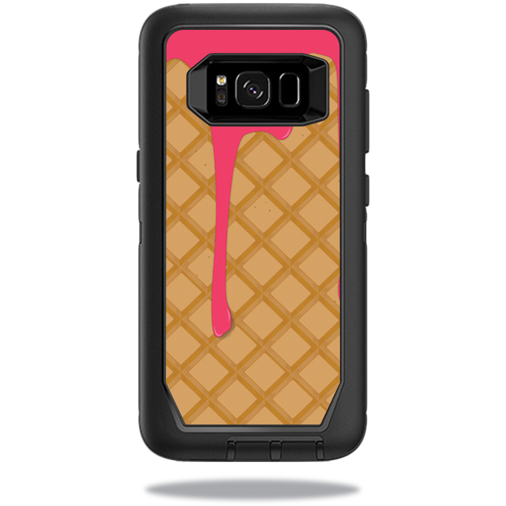 MightySkins Protective Vinyl Skin Decal for OtterBox DefenderSamsung Galaxy S8 Case sticker wrap cover sticker skins Ice Cream Cone