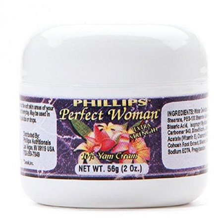 Perfect Woman Bioidentical Natural Progesterone Cream Extra Strength 10% 2