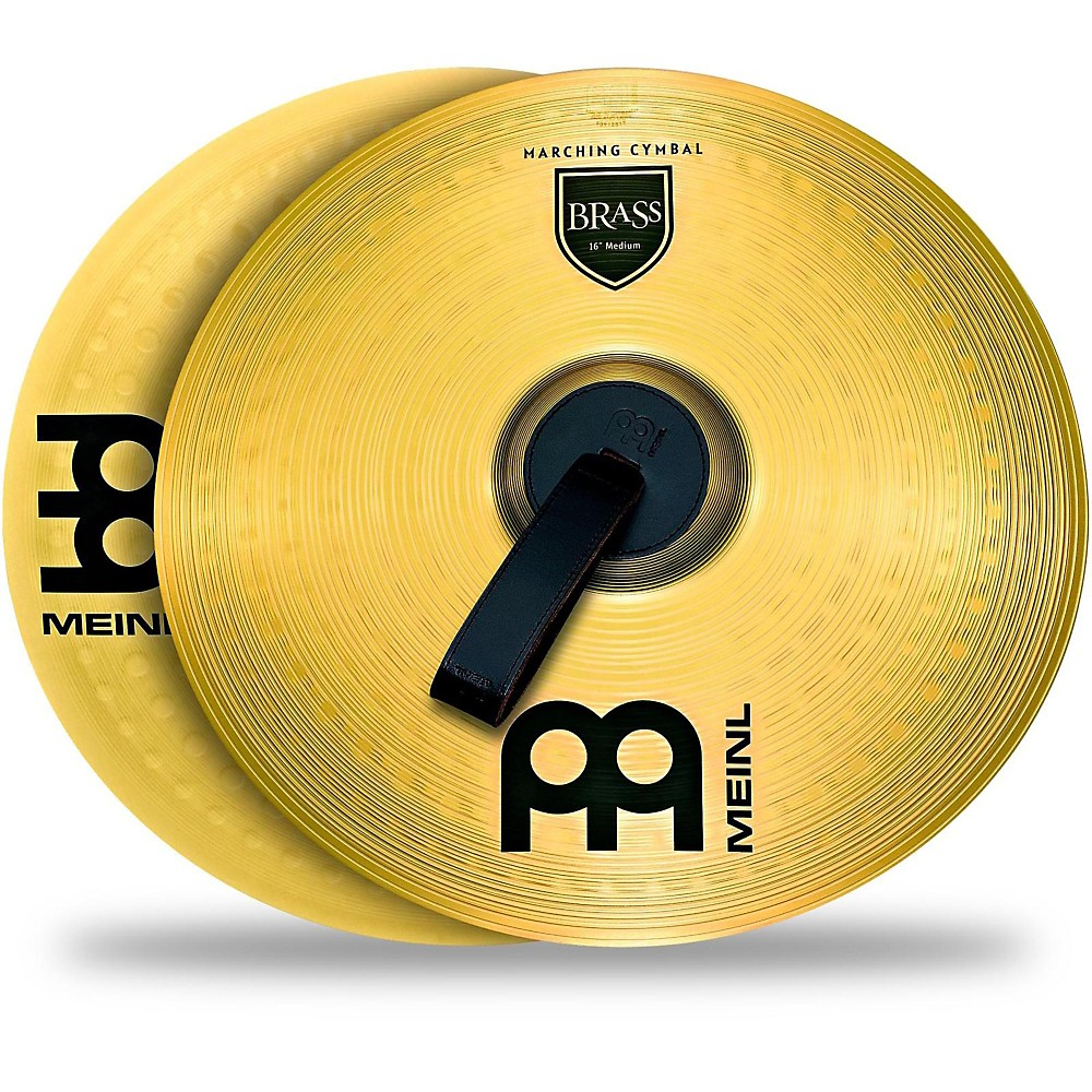 Meinl Brass Marching Cymbal Pair 18 in.