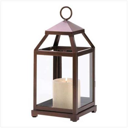 100 Bronze Contemporary Lantern