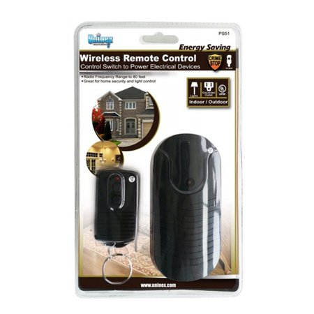 Indoor Outdoor Wireless Remote Control Switch Power Outlet AC Plug UL, Wireless Remote Control Switch, Power Transmitter By