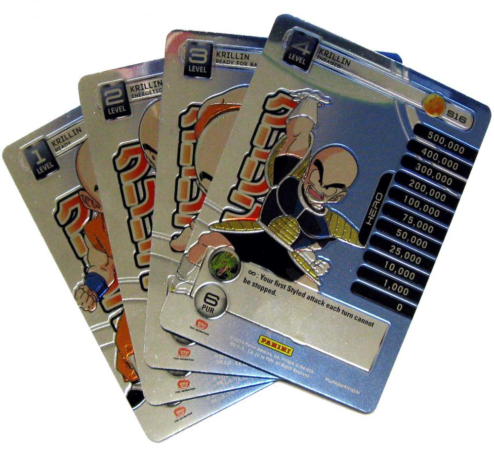 Dragon Ball 2014 Starter Set Set of 4 Krillin Personality Single Cards