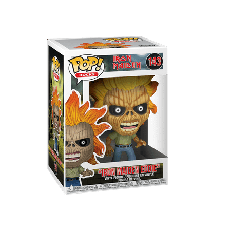 Funko POP! Rocks: Iron Maiden - Iron Maiden (Skeleton Eddie)