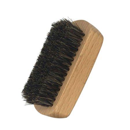 1pc Men's Boar Bristle Beard Brush Mustache Shaving Brush Facial Hair Brush Bamboo Round Male Shaving (Facial Hair Styles For Round Faces)