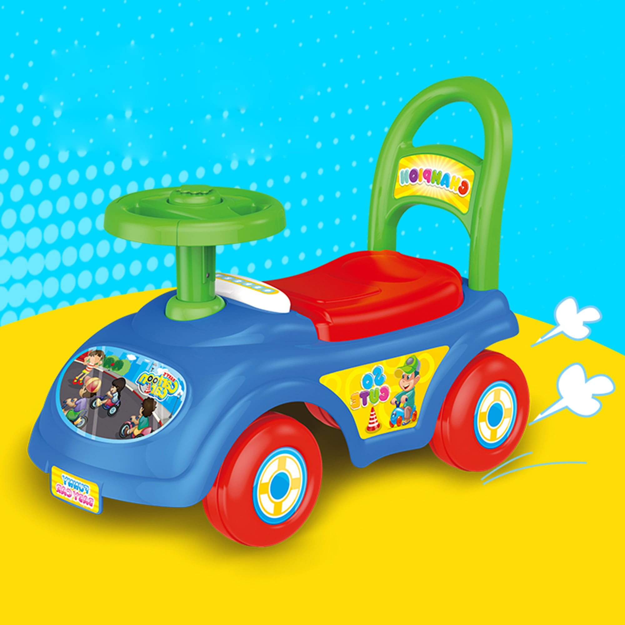 KARMAS PRODUCT Baby Ride On Toys Push Cars for Toddlers by KARMAS PRODUCT