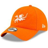 FC Cincinnati New Era Youth Fuzzy Front 9TWENTY Snapback Adjustable Hat - Orange - OSFA