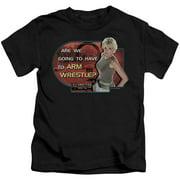 Stargate SG1 Arm Wrestle Little Boys Shirt