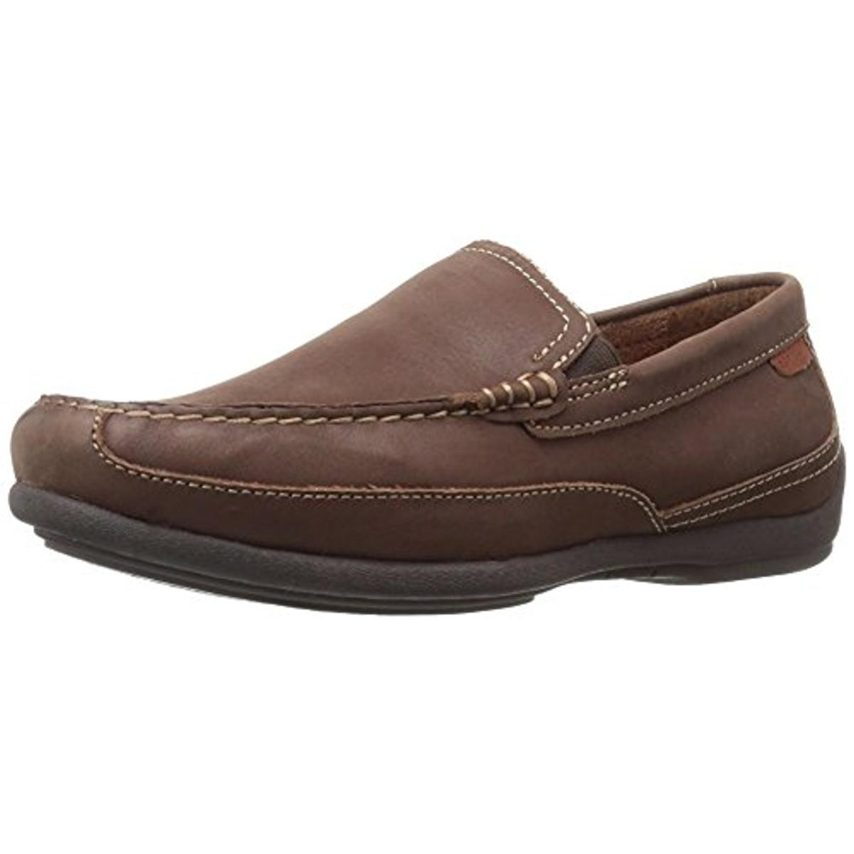 Florsheim Mens Moto Venetian Leather Slip On Loafers by Florsheim