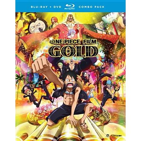 One Piece Film: Gold Movie (Blu-ray + DVD) - Good Couples Movies
