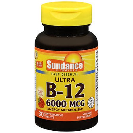Sundance Ultra B 12 6000 Mcg   30 Tablets
