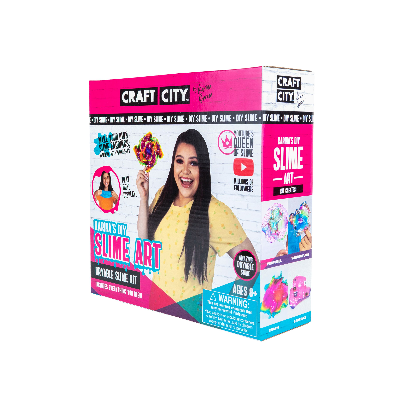 Craft City Karina Garcia DIY Slime Art Kit: Turn Slime into Art