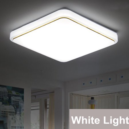 12/18W Modern LED Square Ceiling Down Light Flush Mount Light Home Bedroom Kitchen Lamp Mounted Home Fixture Lamp - image 3 of 7