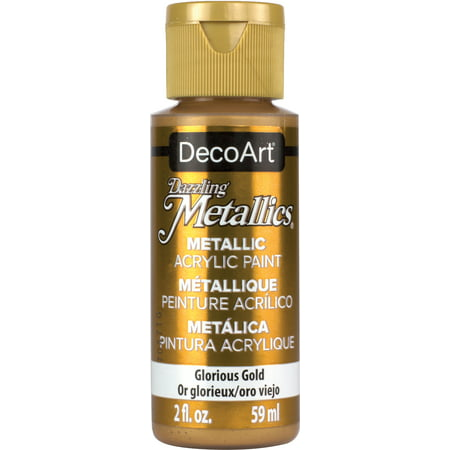 Dazzling Metallics Acrylic Paint 2oz-Glorious Gold - image 1 de 1