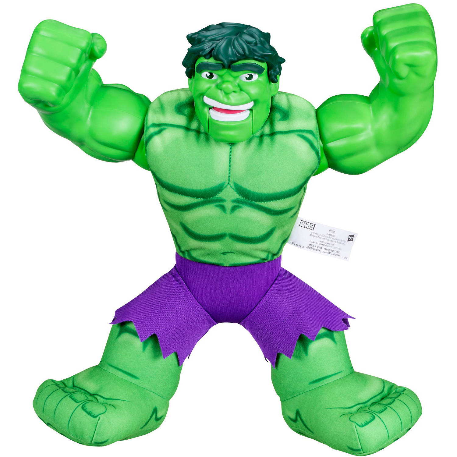 Playskool Heroes Marvel Superhero Adventures Huggable Hulk by
