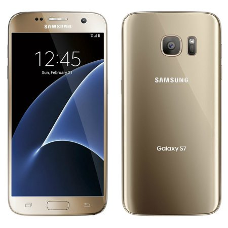 Samsung Galaxy S7 G930 Gold Platinum 32GB - Verizon and GSM Unlocked (Scratch and