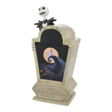 Vandor LLC The Nightmare Before Christmas Tombstone Sculpted Ceramic Cookie Jar