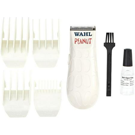 2 Pack - Wahl Professional Peanut, Model 8655, White Trimmer Kit 1 ea