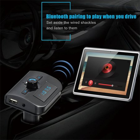Bluetooth Hands-free Car MP3 Radio FM Transmission Stereo TF