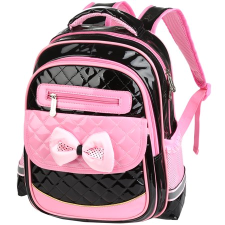 Girls School Backpack-Fitbest Girls Cute School Backpack Children Princess Bookbag  Satchel Travel Bag PU Leather School Bag For Primary School Students 691257ed70dee