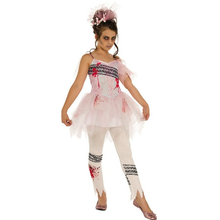 Final Performance Ballerina Zombie Ghost Girls Halloween Costume for $<!---->