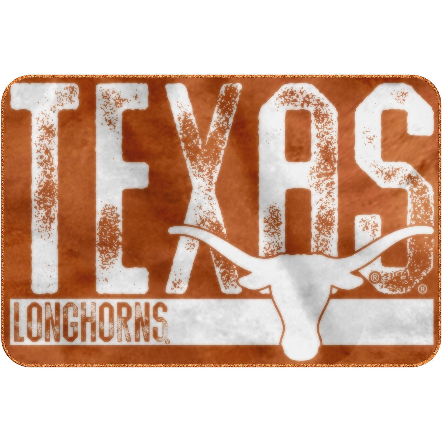 "NCAA Texas Longhorns 20"" x 30"" ""Worn Out"" Mat, 1 Each"