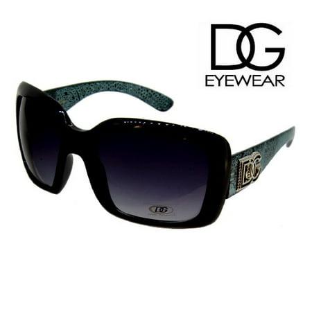 7d1dc10bb3cc DGJY - DG Sunglasses Women Oversized DG26688 Green - Walmart.com