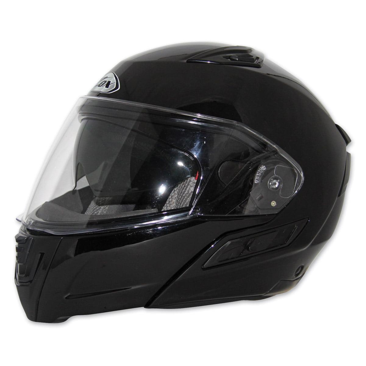 Zox  Kaba SX Gloss Black Open Face Helmet