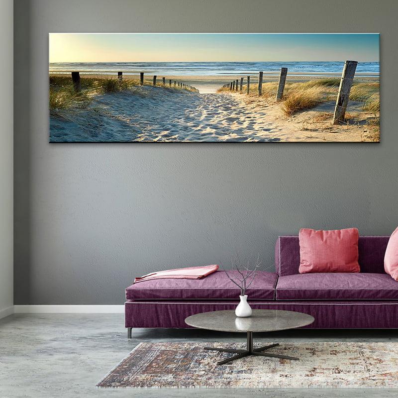 SET OF 2 BEACH OCEAN WALL ART PRINT PERFECT GIFT FOR HOME DECOR