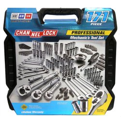 Channellock 171-Piece Mechanics Tool Set, 39053