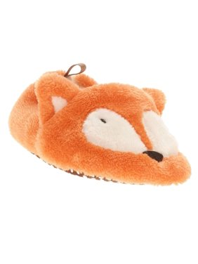 0a8bfbe059 Product Image Infant Boys   Girls Plush Orange Fox Slippers Baby Prewalk  Shoes