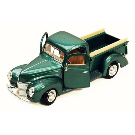 1940 Ford Pick Up truck, Green - Motor Max 73234AC - 1/24 Scale Diecast Model Toy Car