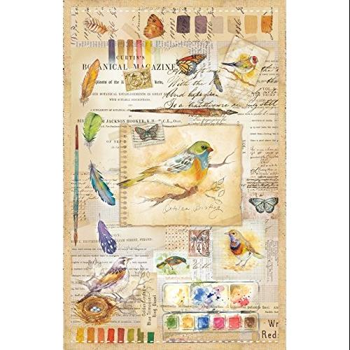 SunsOut Natures Sketches 1000 piece Jigsaw Puzzle Multi-Colored