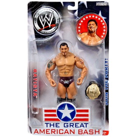WWE Wrestling The Great American Bash Batista Action
