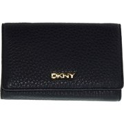 Dkny Women's Medium Tribeca Soft Tumbled Leather Carryall Leather Wallet Baguette - Navy