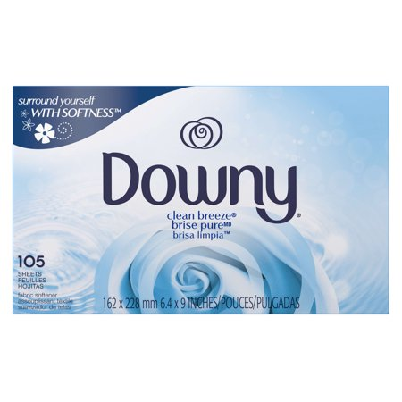 Downy Dryer Sheets  Clean Breeze  105 Sheets