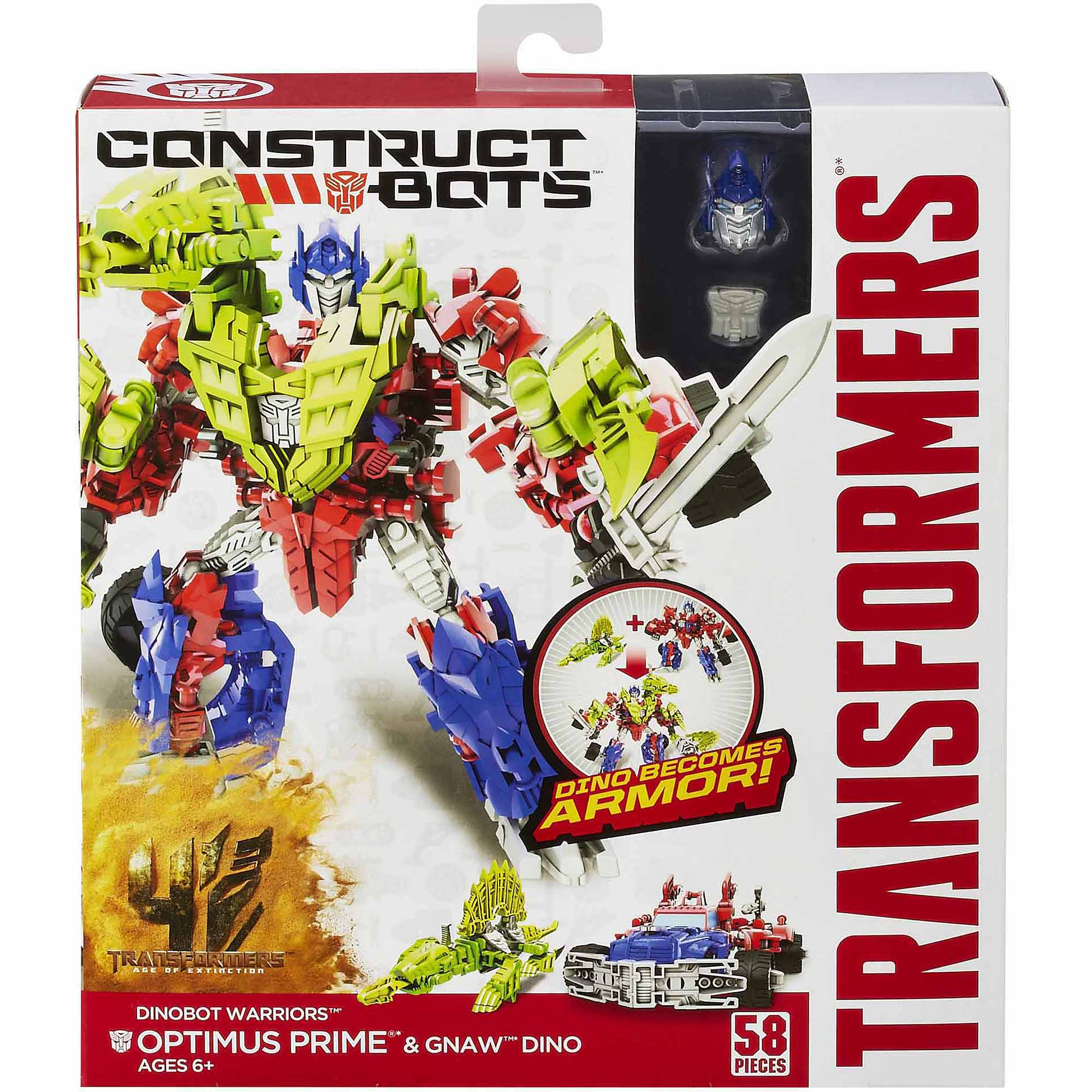 Free toys Transformer Construct A Bots Dino Warriors 2 Figure Bargain Bundle