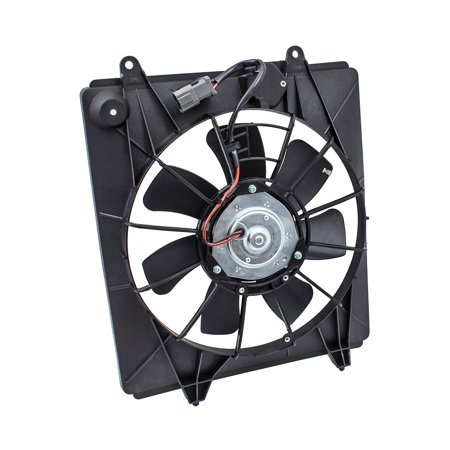 BROCK A/C AC Cooling Condenser Fan Motor Assembly WITHOUT Controller Replacement for 07-09 Honda CR-V 38615RZAA01 38616RZAA01 38611PNA0003