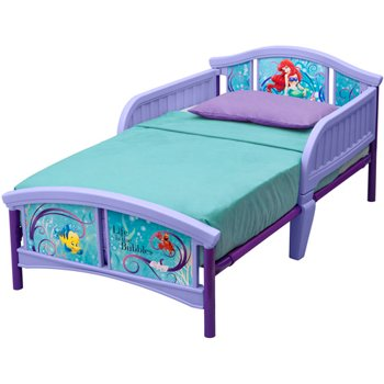 Disney Little Mermaid Toddler Bed