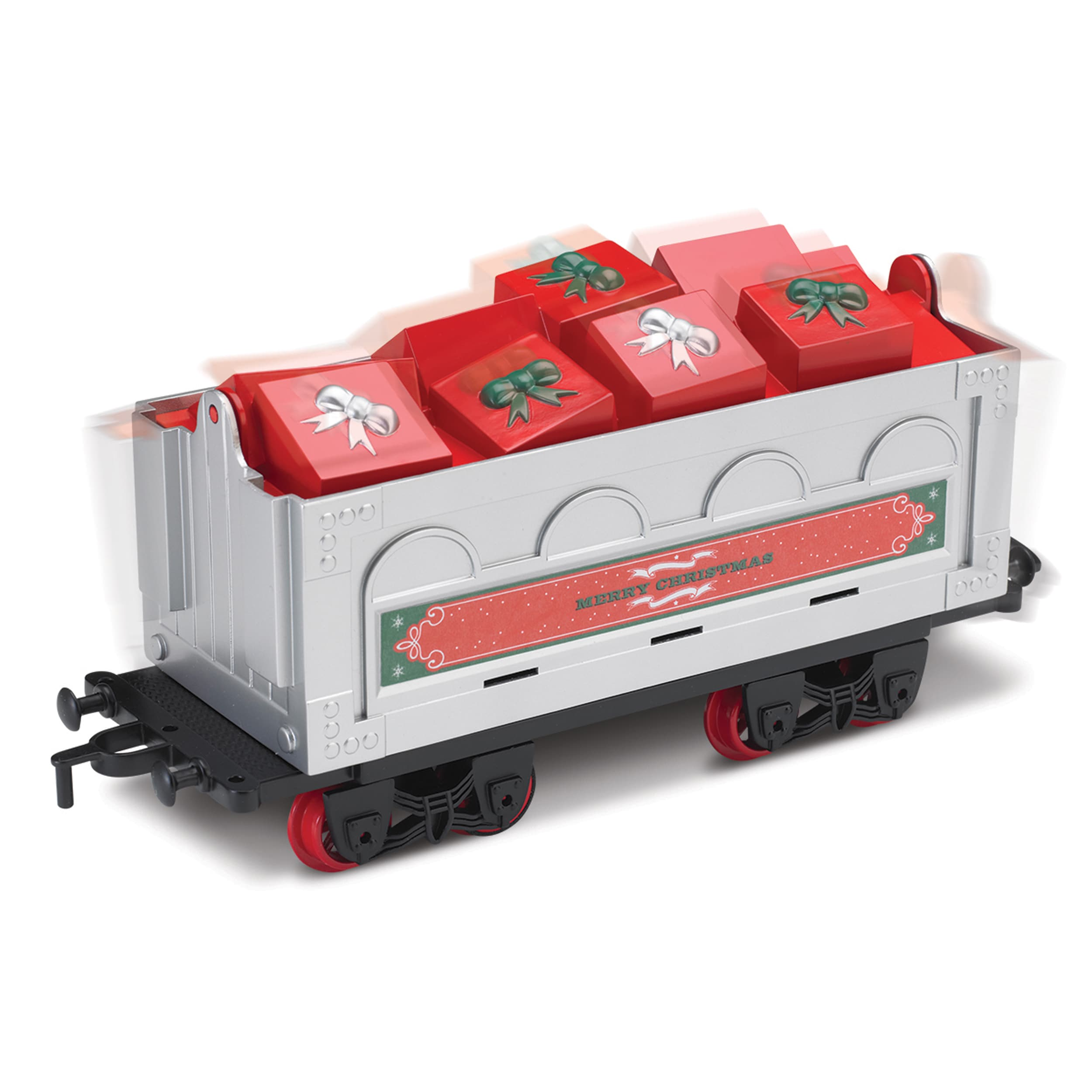 Blue Hat North Pole Junction Christmas Train Set -34 piece - Walmart.com