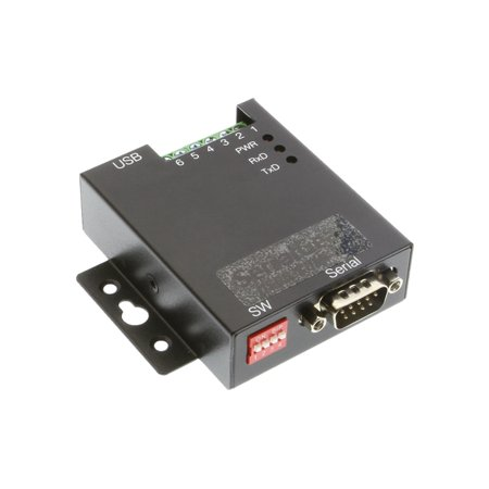 SerialGear 1-Port USB to RS-232 Selectable RS-422 or RS-485 Industrial Adapter (Rs 485 Direct Computer)