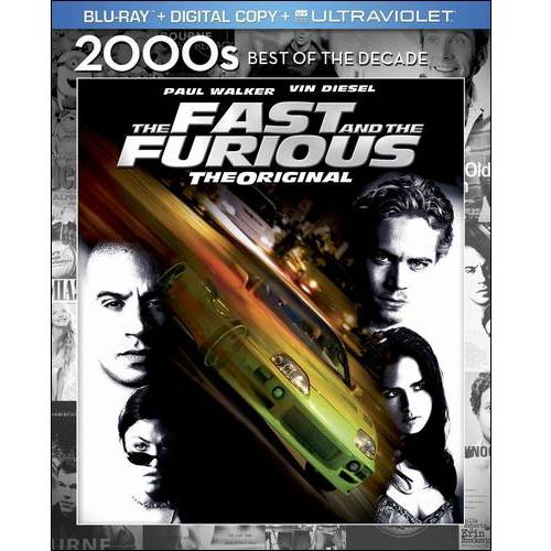 The Fast And The Furious (Blu-ray + Digital HD) (Widescreen)