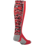 TCK Digital Camo OTC Socks (Red, Medium)