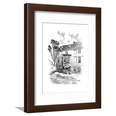 Hogarth's House, Chiswick, 1912 Framed Print Wall Art By Frederick Adcock