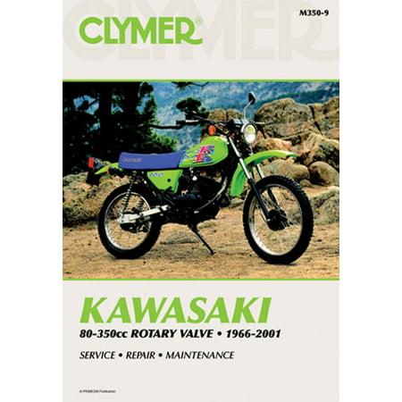 - Clymer 1966-2001 Kawasaki 80-350cc Rotary Valve Motorcycle Service Repair Manual