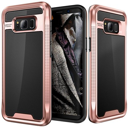 Galaxy S8 Case  E Lv Galaxy S8   Hybrid  Scratch Dust Proof  Armor Defender Slim Shock Absorption Bumper Case For Samsung Galaxy S8    Black  Rose Gold