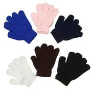 Kids Korner Stretch Gloves Kids 6-Pack Ages 7-16 years
