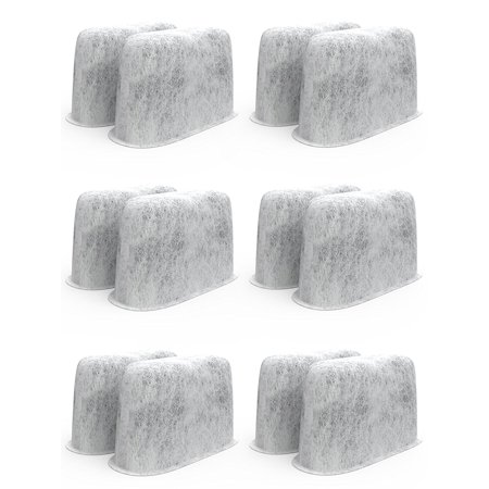 Pack of 12 Premium Cuisinart Charcoal Water Filters for All Cuisinart Coffee Machines Cuisinart Charcoal Coffee Filters