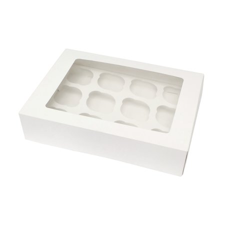 SpecialT | Cupcake Boxes with Insert – White Bakery Boxes, Dessert Boxes
