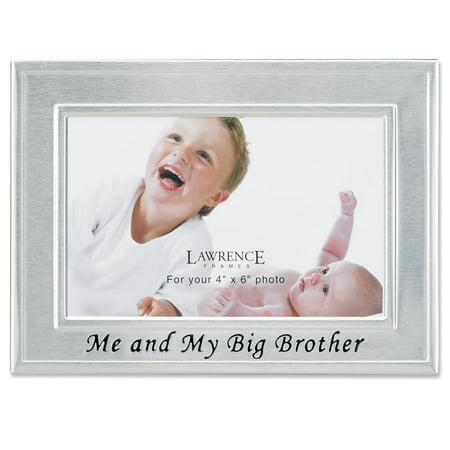 Big Brother Silver Plated 6x4 Picture Frame Me And My Big Brother