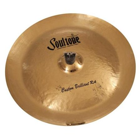 Soultone Cymbals CBRRA-CHN15 15 in. Brilliant RA China China Cymbal Brilliant Finish